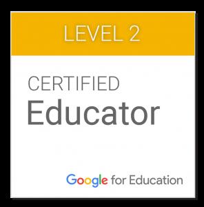 Certificado google para profesores